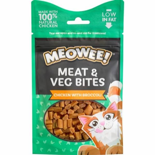 Bilde av MEOWEE! MEAT & VEG CHICKEN WITH BROC