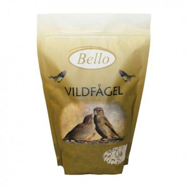 Bilde av Bello Villfuglblanding solsikkefrø hvite 500g